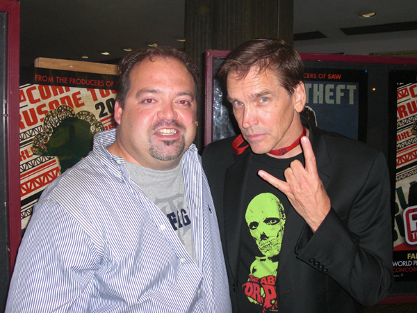 "Derek Herd & Bill Moseley at the ""Repo The Genetic Opera"" world premiere in Montreal, Canada."