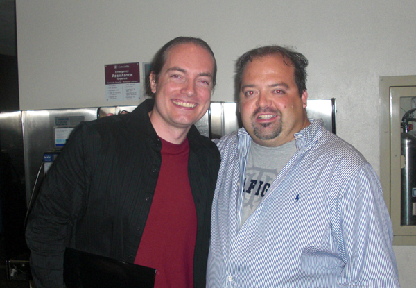 "Terrance Zdunich & Derek Herd at the ""Repo The Genetic Opera"" world premiere in Montreal, Canada."