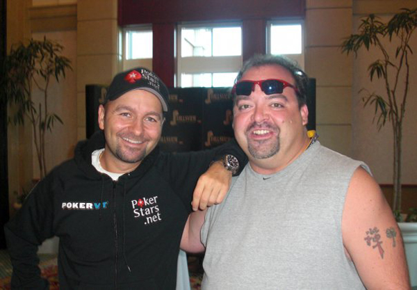 Daniel Negreanu & Derek Herd at WPT Canadian Open.