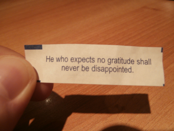 Fortune Cookies - You're Doing It Wrong!