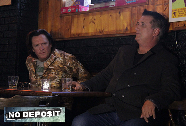"The talented Michael Madsen and Daniel Baldwin in ""No Deposit"". (c) 2014 ""In Your Ear Productions"""